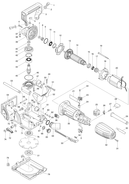 Makita P-08850 Galleta GR20