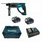 Martillo ligero 18V Litio 20mm 5,0Ah  DHR202RTJ MAKITA