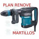 Martillo demoledor 5,1Kg  HM0870C MAKITA PLAN RENOVE MARTILLOS
