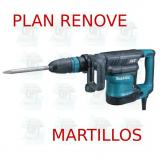Martillo demoledor 8,0Kg AVT  HM1111C MAKITA PLAN RENOVE MARTILLOS