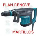 Martillo demoledor 10,8Kg AVT  HM1213C MAKITA PLAN RENOVE MARTILLOS
