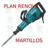 Martillo demoledor 15,3Kg  HM1307C MAKITA PLAN RENOVE MARTILLOS