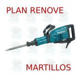 Martillo demoledor 19,0Kg AVT  HM1317CB MAKITA PLAN RENOVE MARTILLOS