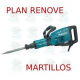 Martillo demoledor 17,0Kg AVT  HM1317C MAKITA PLAN RENOVE MARTILLOS