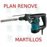 Martillo ligero 28mm 3 modos portabrocas  HR2810T MAKITA PLAN RENOVE MARTILLOS