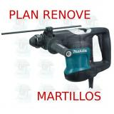 Martillo combinado 32mm 3 modos  HR3200C MAKITA PLAN RENOVE MARTILLOS