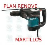 Martillo combinado 45mm 2 modos  HR4501C MAKITA PLAN RENOVE MARTILLOS