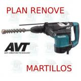 Martillo combinado 45mm 2 modos AVT  HR4511C MAKITA PLAN RENOVE MARTILLOS
