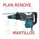 Martillo combinado 52mm 2 modos  HR5202C MAKITA PLAN RENOVE MART.