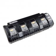 Multicargador 4 puertos 18V DC18SF Litio-ion 7,2 - 18V