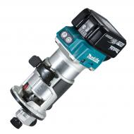 Fresadora multifunción 18V litio-ion 6 y 8 mm          DRT50RTJX2 Makita