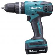 Taladro percutor 14,4V Litio 1,3Ah  HP347DWE MAKITA