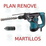 Martillo ligero 28mm 3 modos portabrocas Luz  HR2811FT PLAN RENOVE MARTILLOS