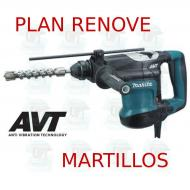 Martillo combinado 32mm 3 modos AVT  HR3210C MAKITA PLAN RENOVE MARTILLOS