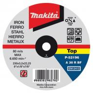 Disco de corte metal 115mm x 1.0mm 1  Metal