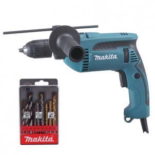 Taladro percutor 680W 13mm automático promo  HP1641K1X MAKITA